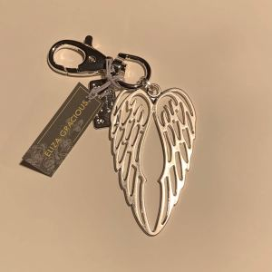 Angel Wings Keyring