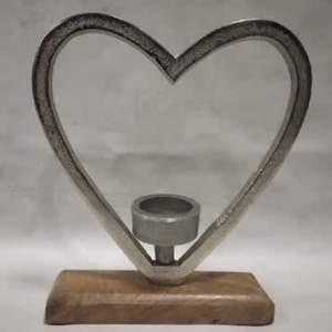 Open Heart Tealight