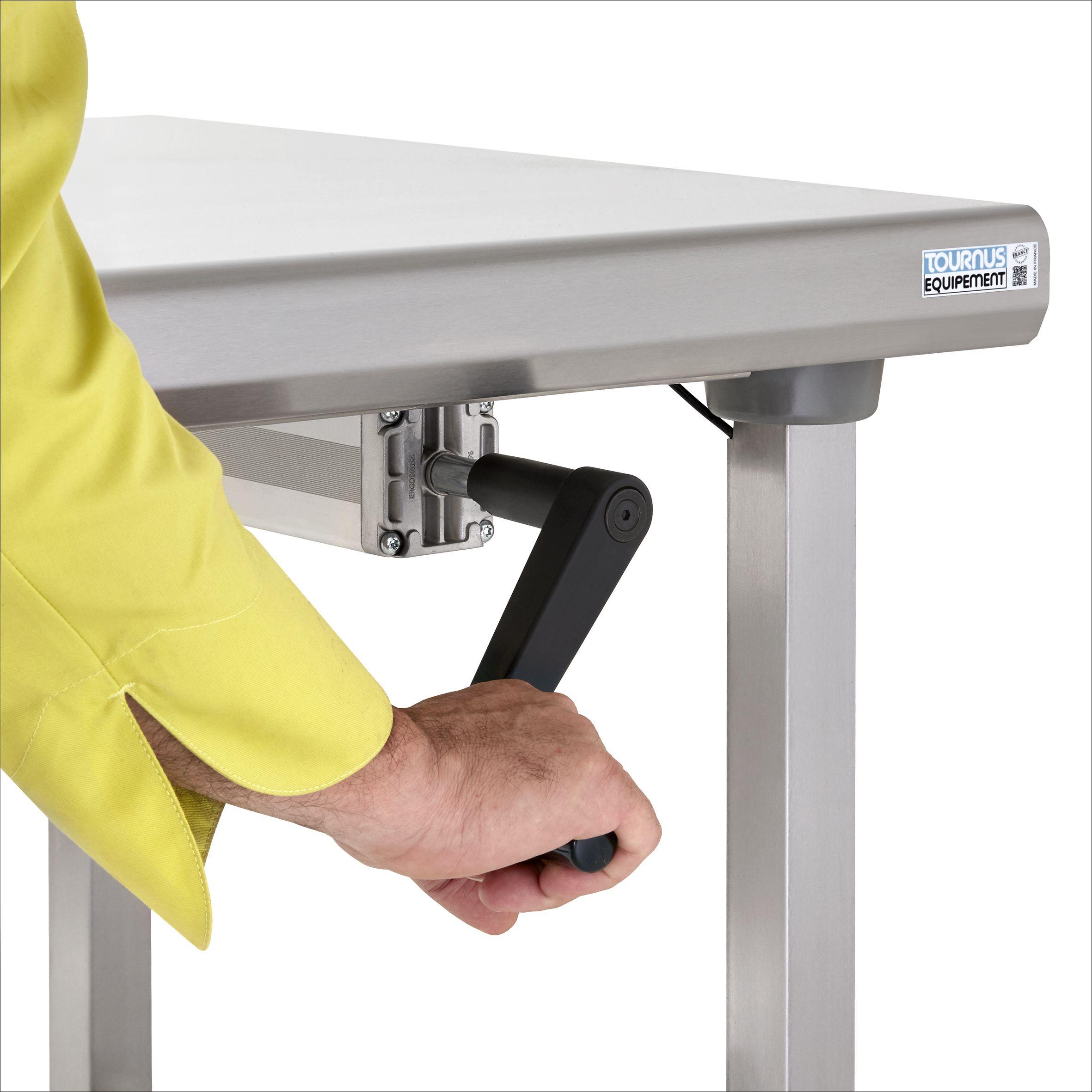 table centrale reglable en hauteur ergonomix
