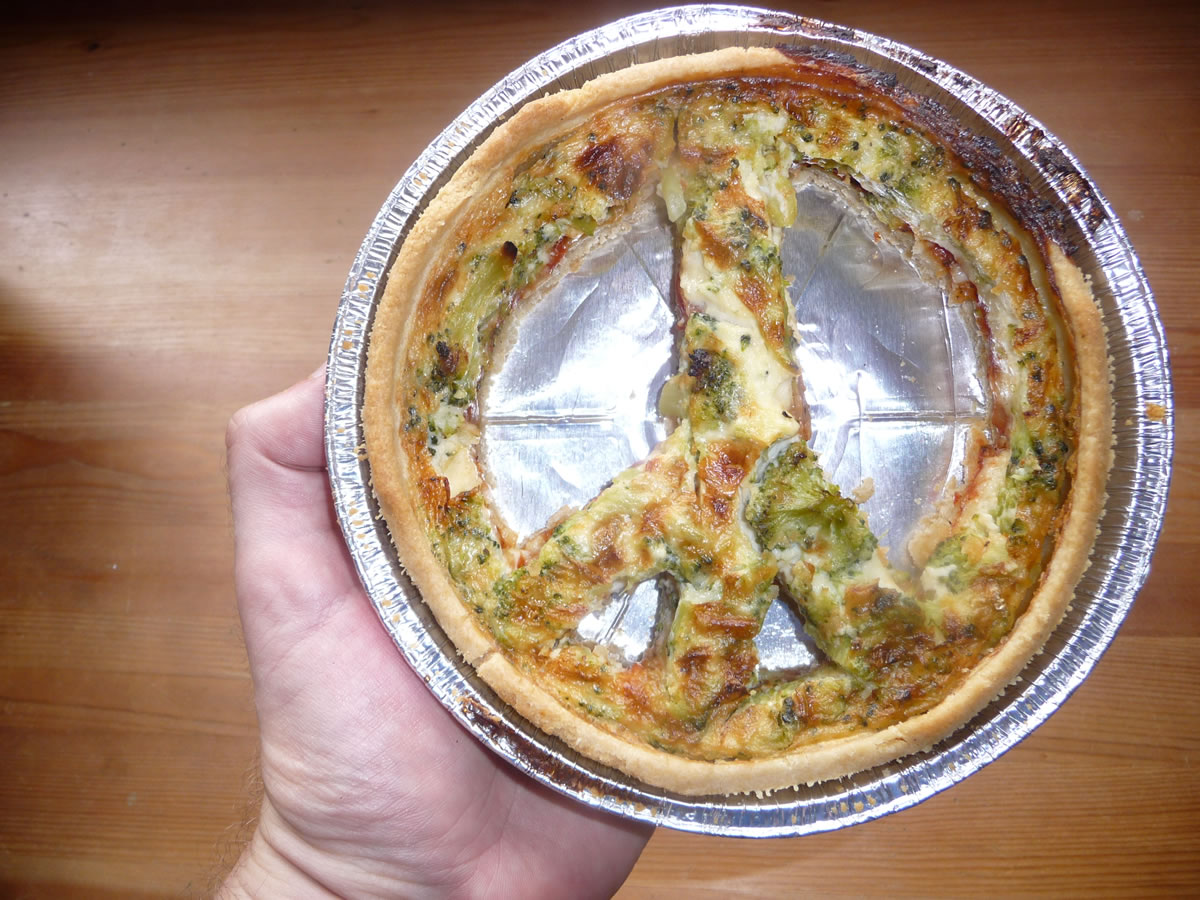 Give quiche a chance