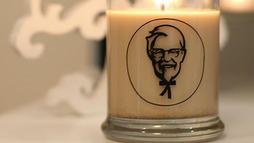Man Eats KFC Candle For Light Snack