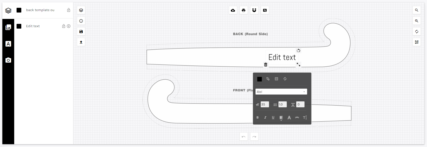 Getting started with the design tool
