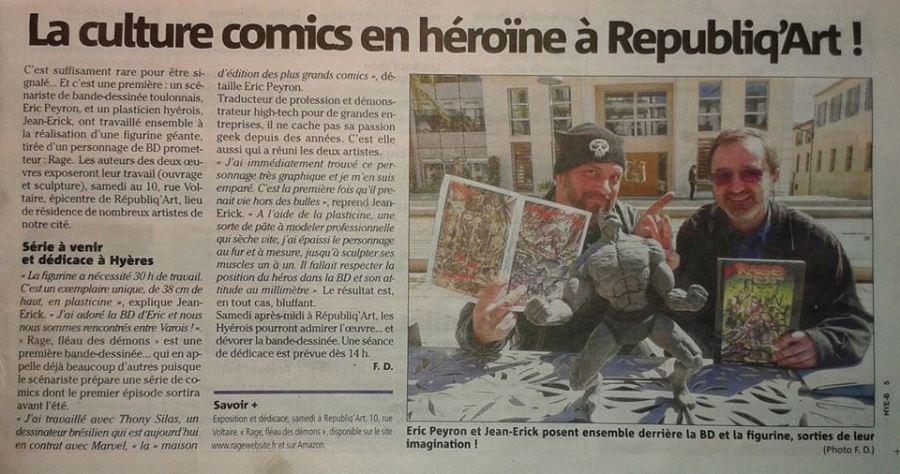 La Culture Comics en héroïne à Républiq'Arts