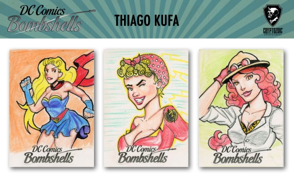 Bombshells Sketch Preview by Thiago Kufa