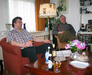 Tony and Wim