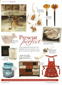 Period Homes features Betty Christmas Apron