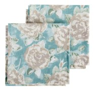 Natalie Napkins Duck Egg Blue