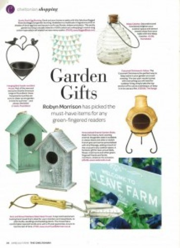 The Cheltonian June 2016 Duckegg Bunting Ragged Rose