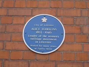 Alice Hawkins Suffragette