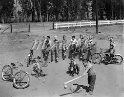 Children Playing with Bikes
