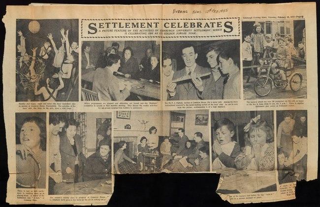 Edinburgh Settlements Celebrates