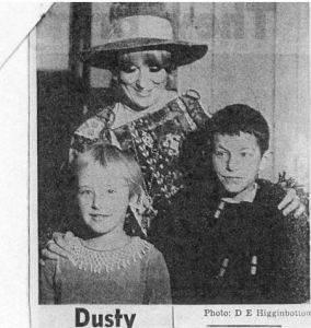 Dusty springfield at Sharp Street Ragged Schools article