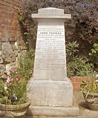 Memorial to John Pounds