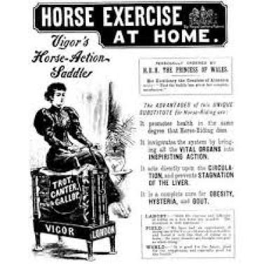 Cures for hysteria and nerves – vibrating devices