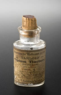 Laudanum tablets One contains 5 minims roughly 0.3 gram