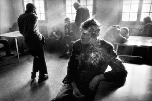 Raymond Depardon photographed mental patients producing the book Manicomio