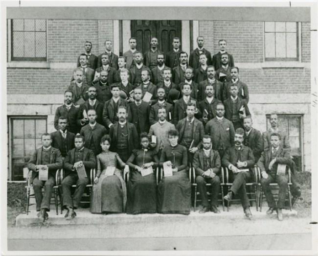 Dr Du Bois at Fisk University