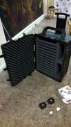 Carbon fibre flycase designed for the job