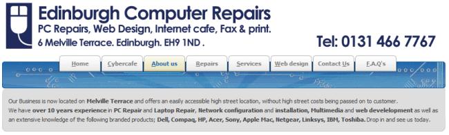 Edinburgh Computer Repairs