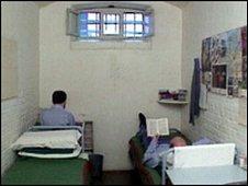 Scottish prison cell