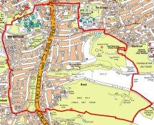 Morningside boundary map
