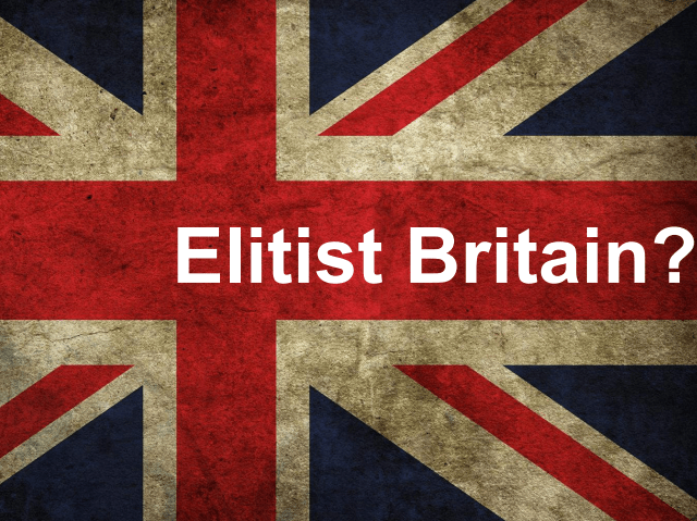 Government Report on Elitist Britain