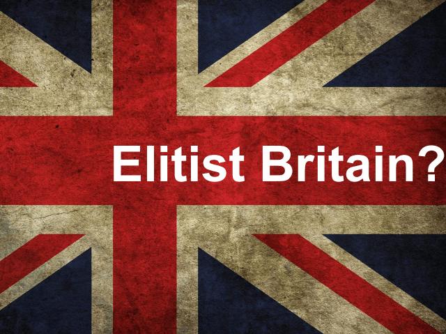 Government Report on Elitist Britain