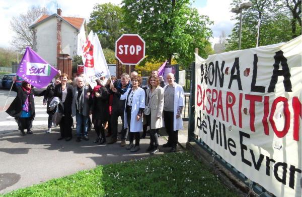 European mental health protest