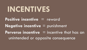 Perverse incentives
