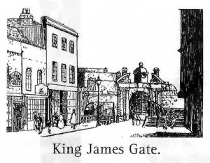 King James Gate Portsmouth