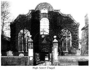 High Street Chapel John Pounds