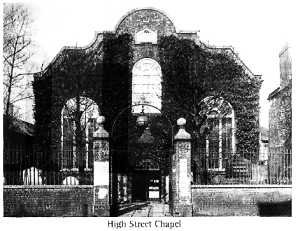 High Street Chapel John Pounds