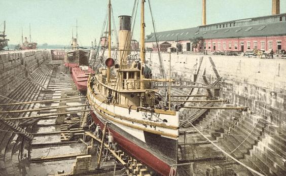 Portsmouth Dry Dock Navy Yard