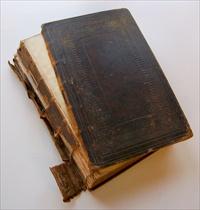 broken small book