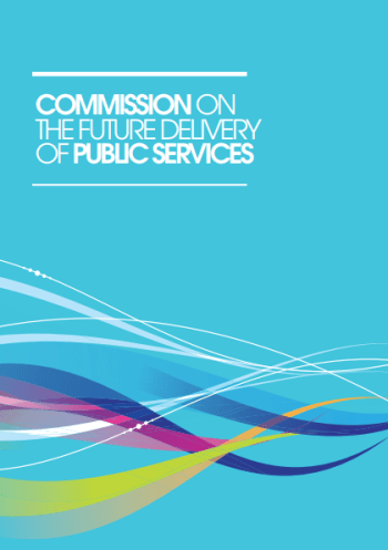 Click to Download: 'The Christie Report: Commision on the Future Delivery of Public Services'