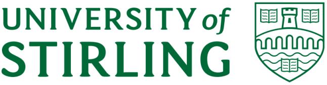 Uni of stirling logo