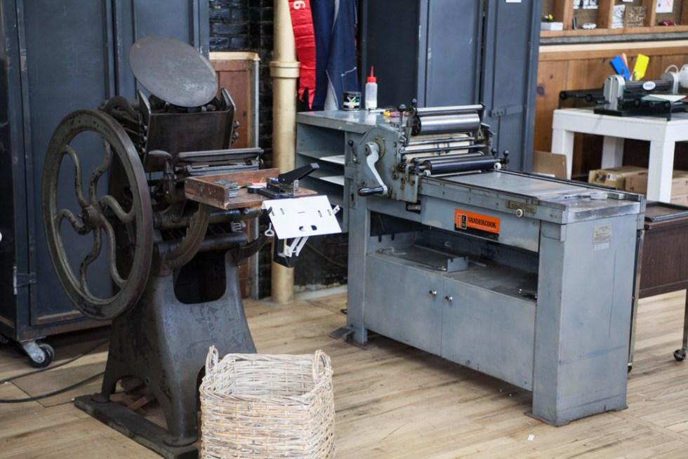 Raghaus Artisanal Letterpress Studio, Newburgh, New York, Hudson Valley