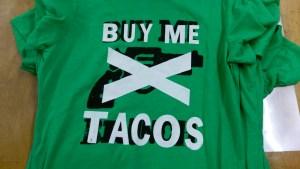 Buy me tacos grunge punk rock t-shirt