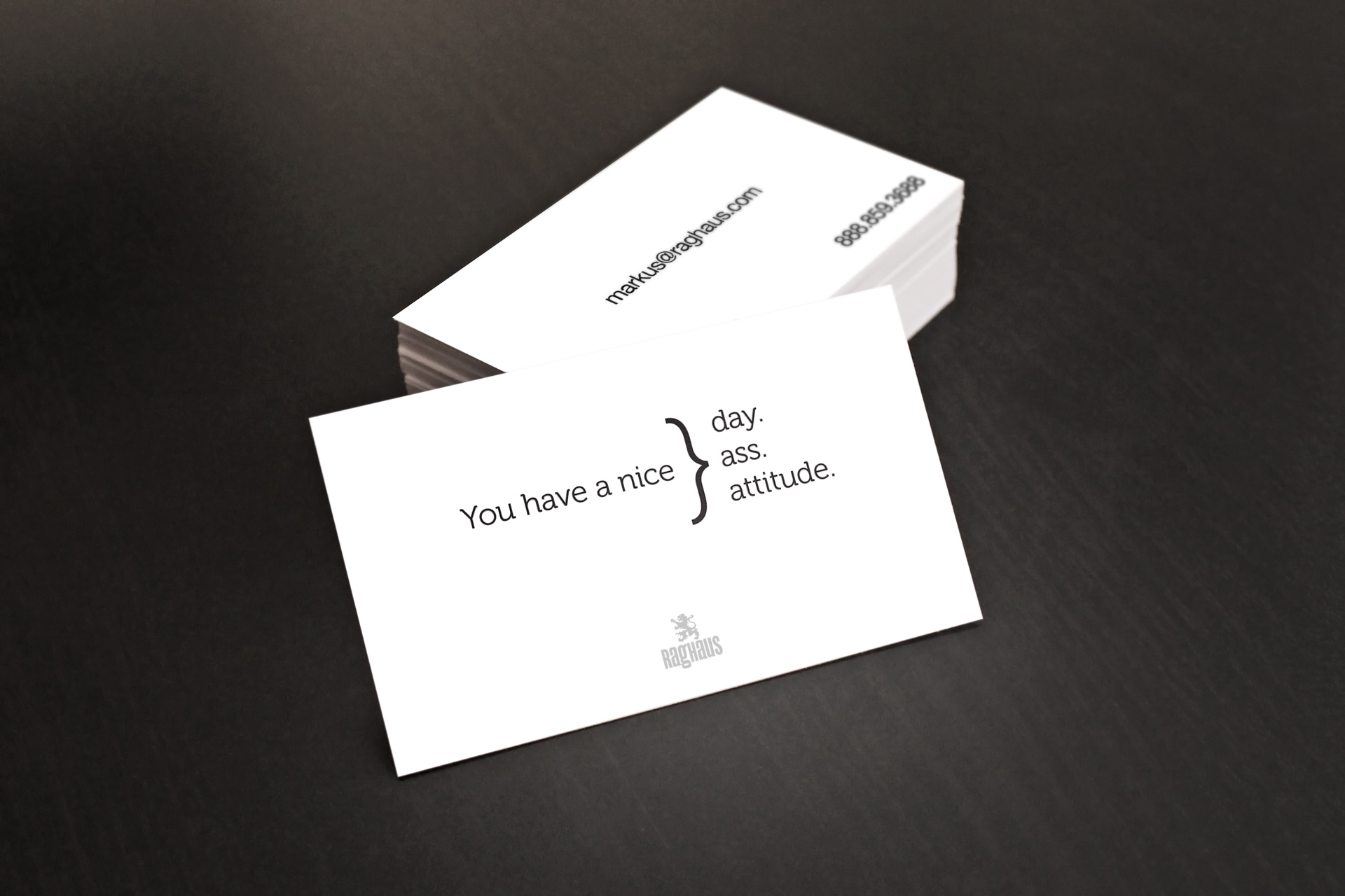 Personalized You have a nice ass business card · Customized You ...