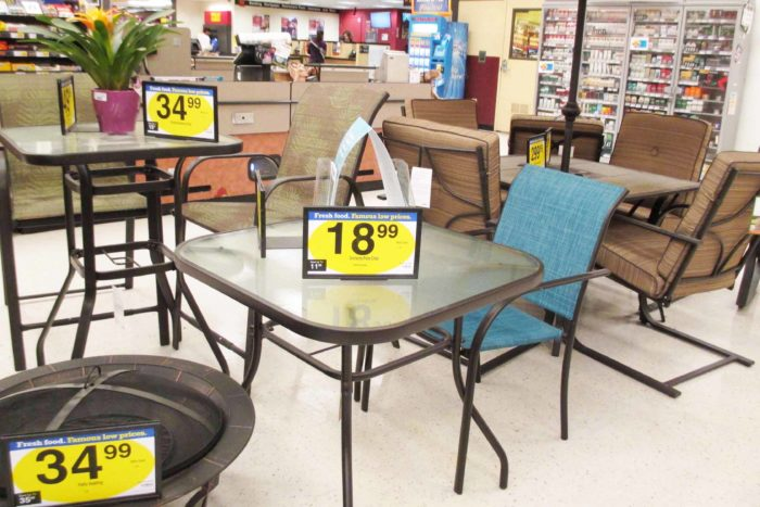 Kroger And Frys Patio Furniture Selection.... : Raging