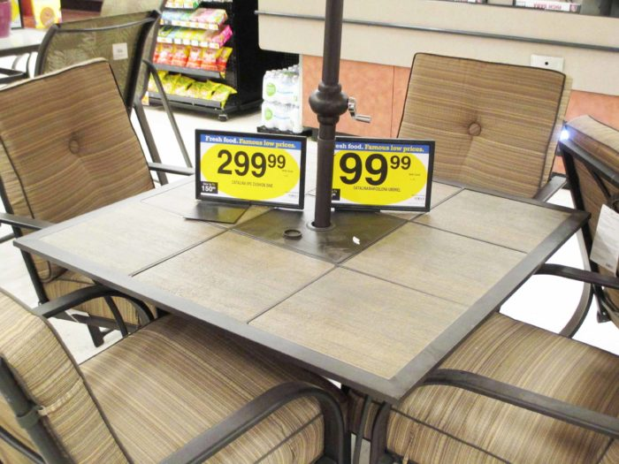 Kroger And Fry's Patio Furniture Selection