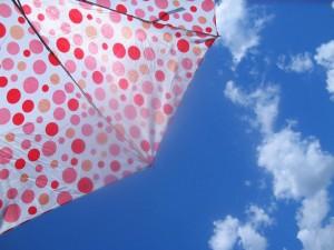 Umbrella with Dots