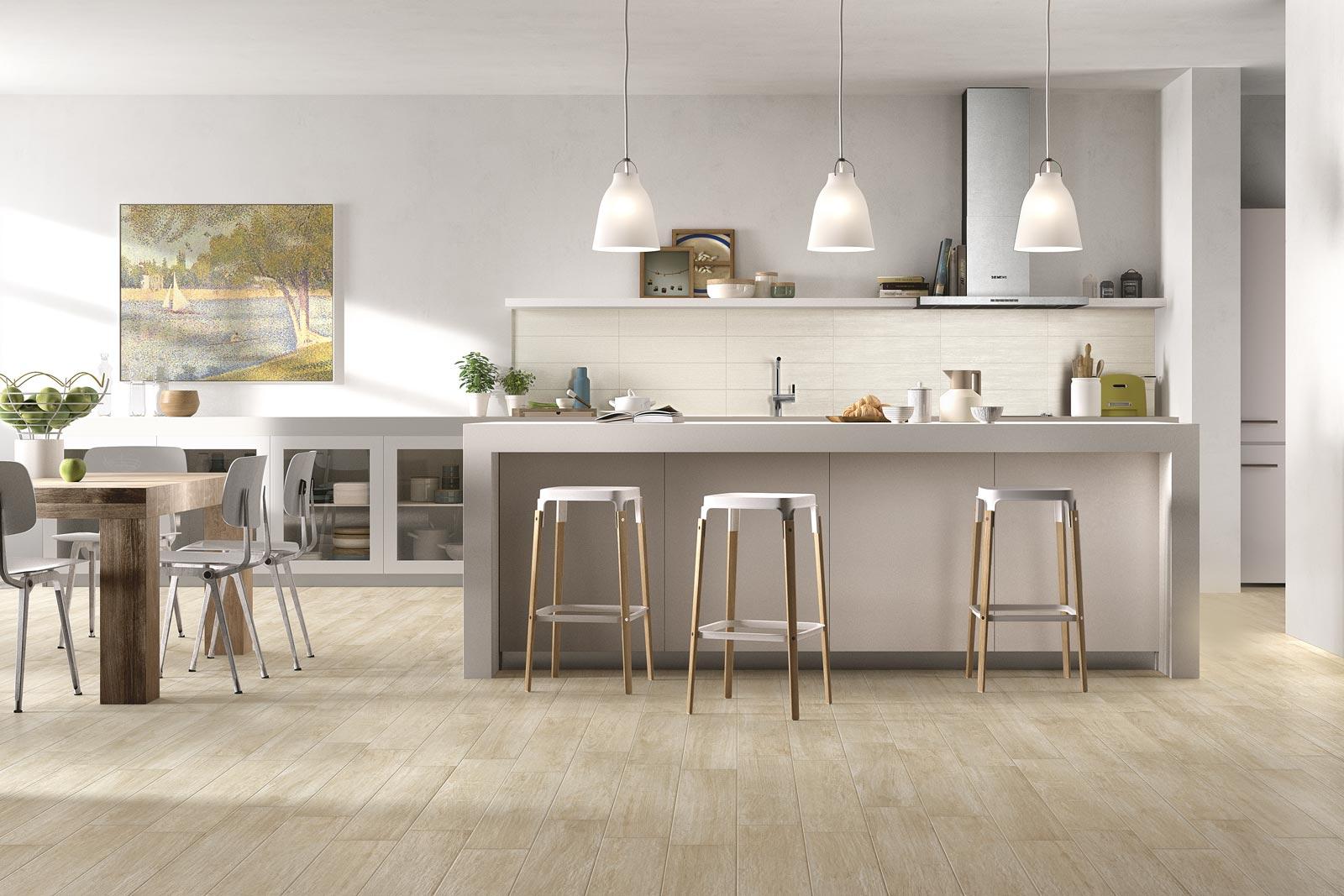 Kitchen Flooring versatility and elegance  Ragno