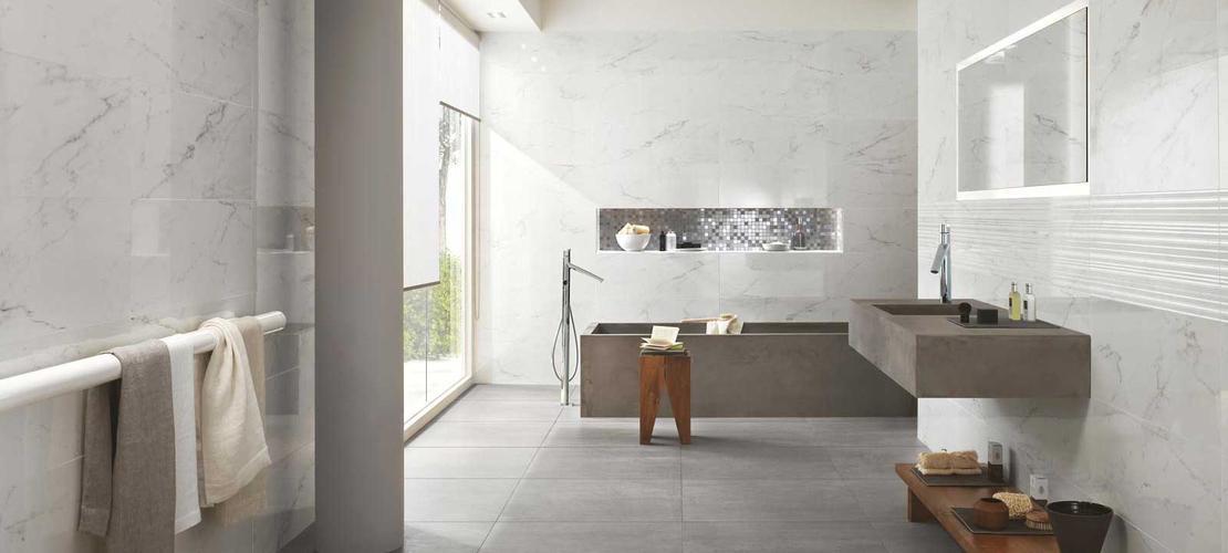 Collezione Daylight Rivestimenti bagno effetto marmo  Ragno