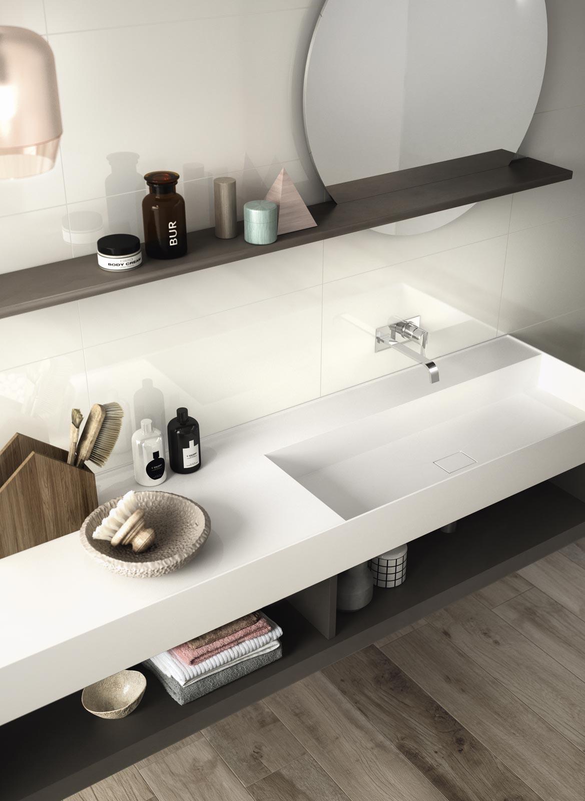 Bagno Bianco Perfezione Total White  Ragno