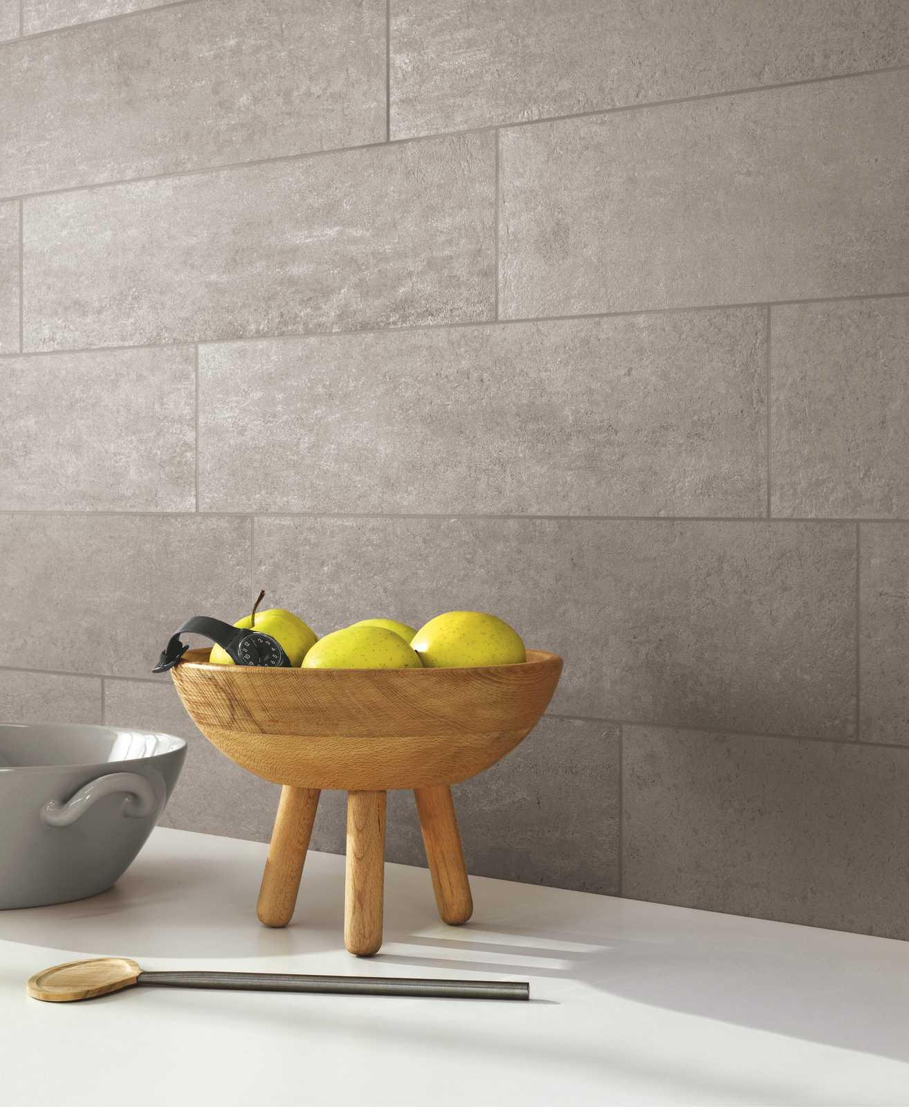 Collezione Concept Gres porcellanato effetto cemento  Ragno