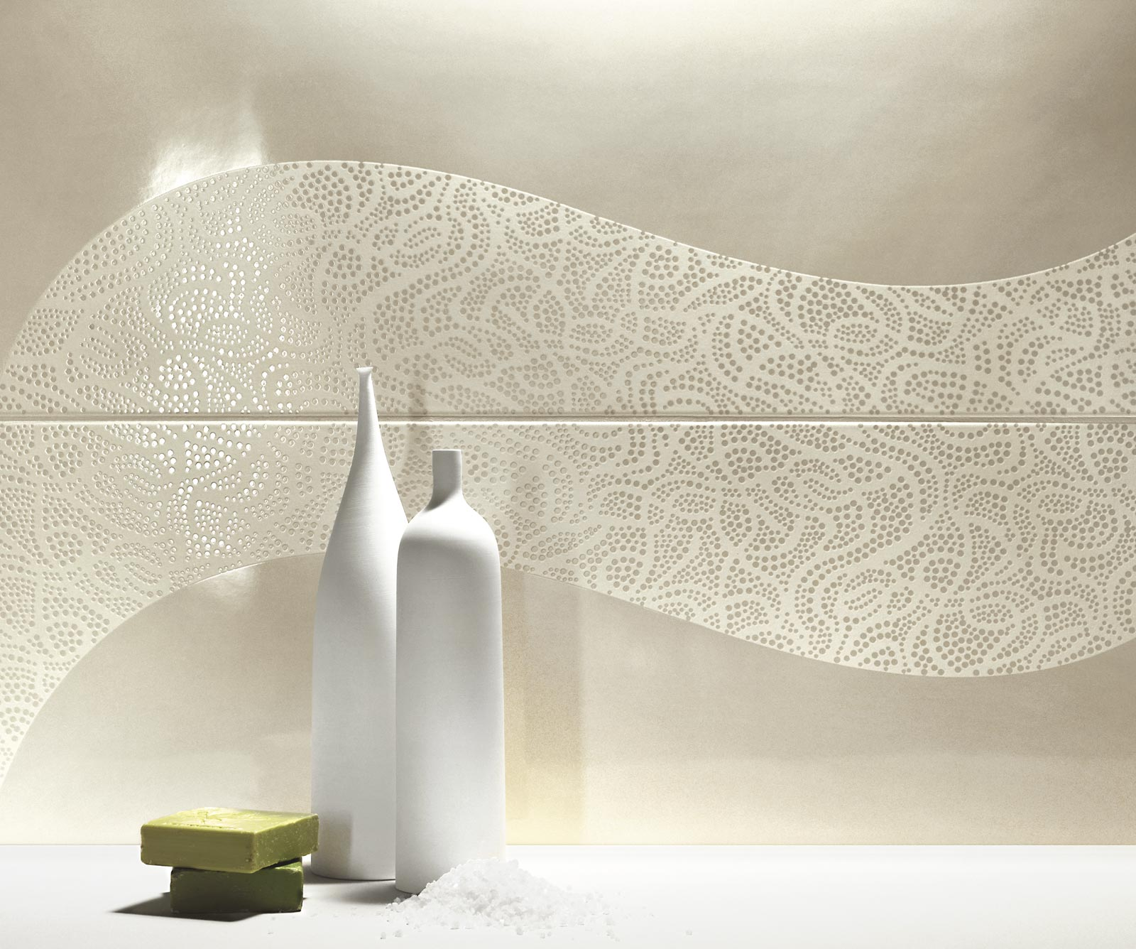 Collezione Handmade Rivestimenti bagno effetto lucido  Ragno