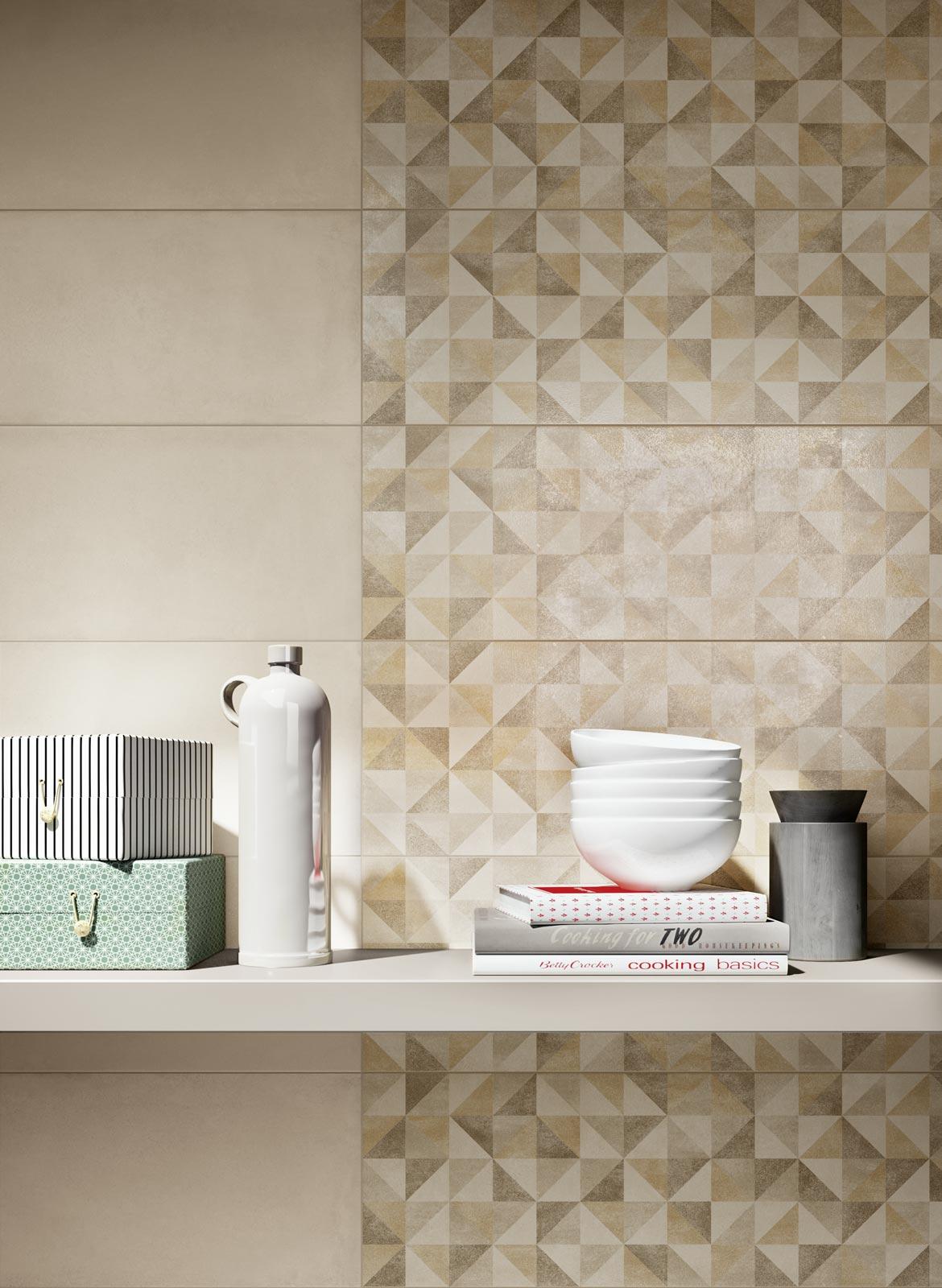 Collezione Rewind wall piastrelle di ceramica effetto