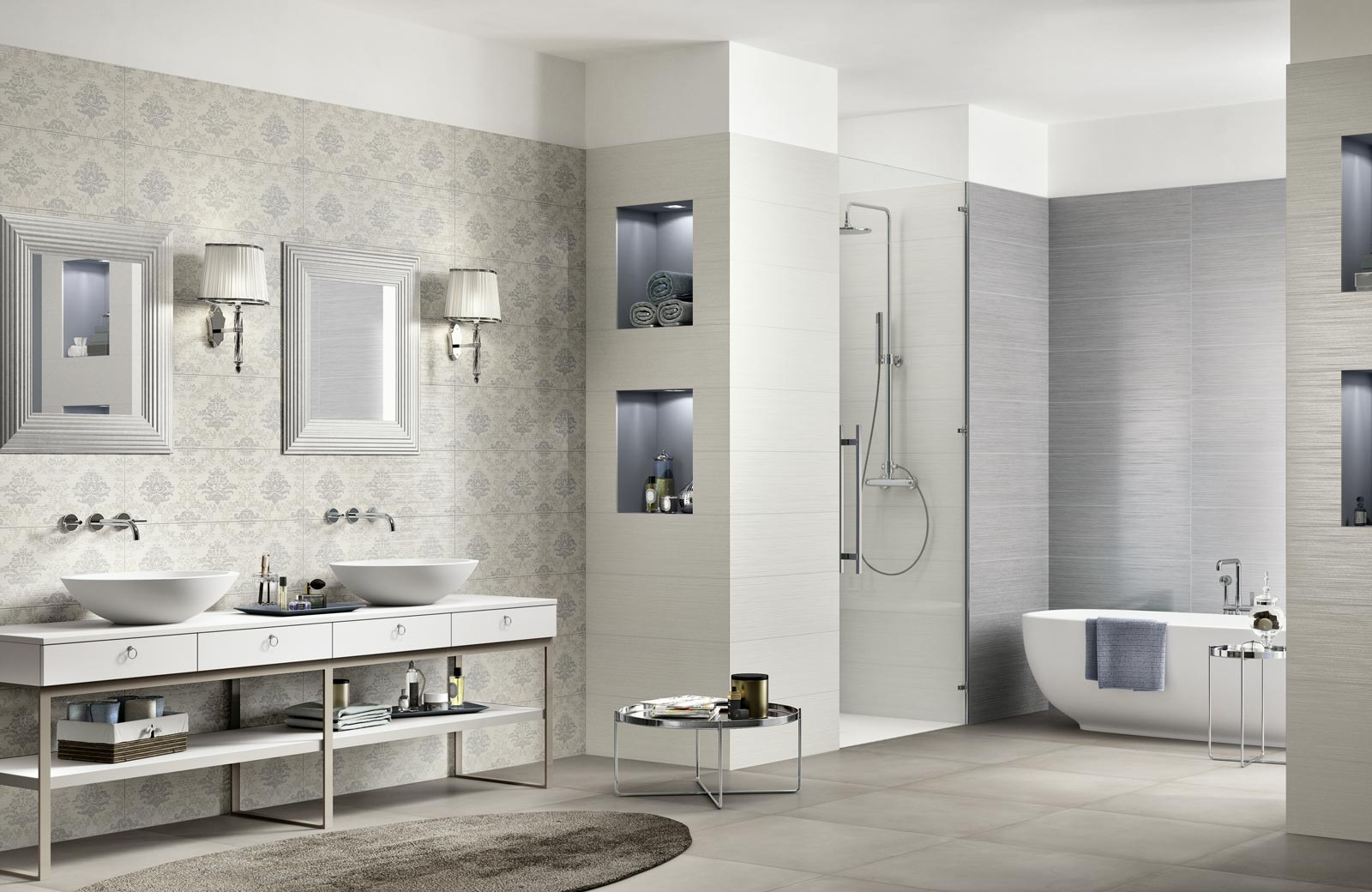 Collezione Wallpaper Rivestimenti classici per il bagno