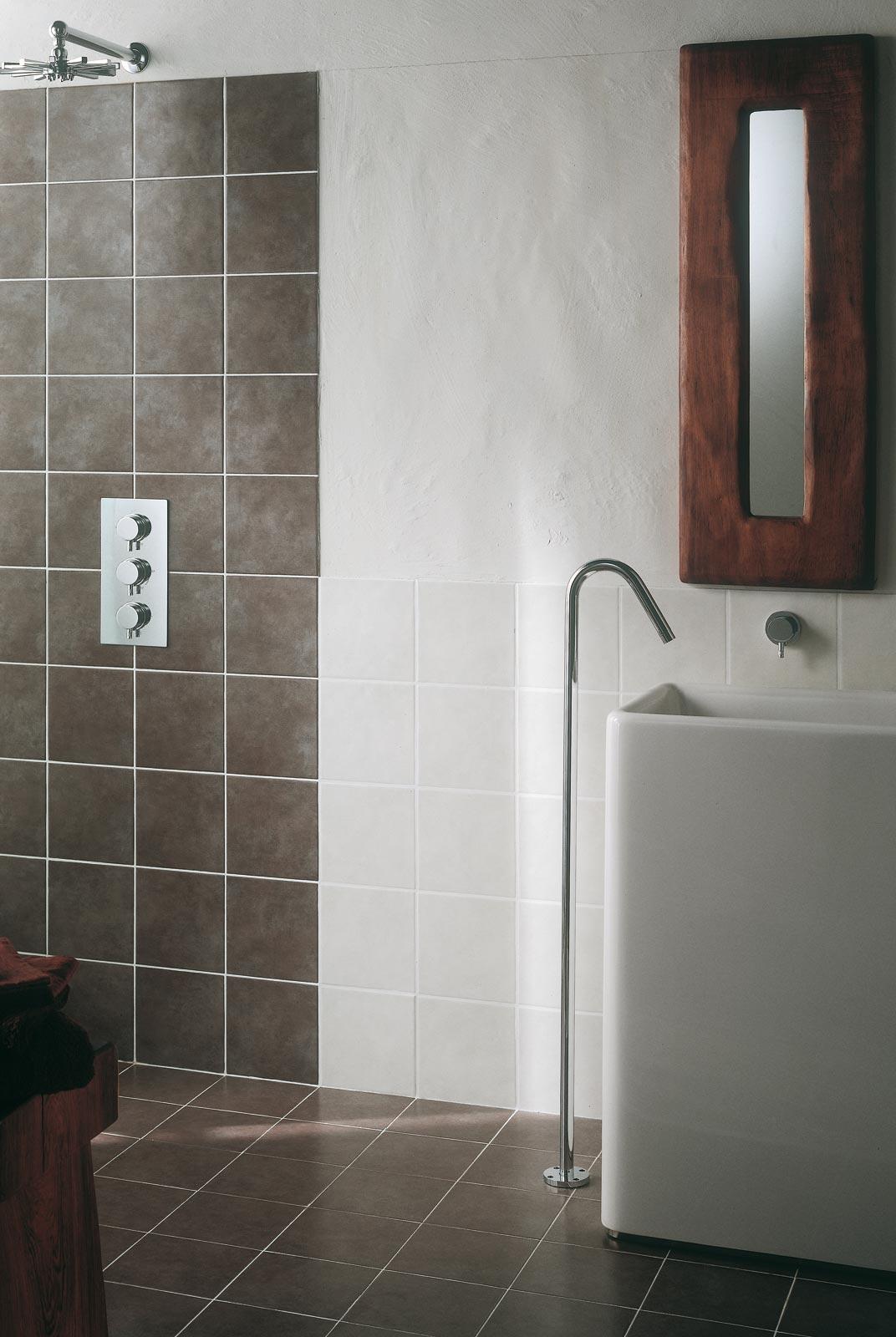 Minimal  piastrelle in ceramica per ambienti bagno  Ragno